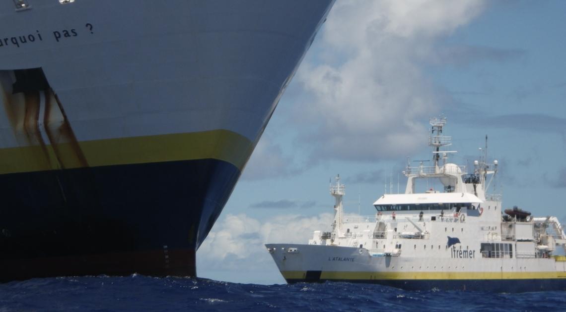 Atalante Pourquoi pas Flotte océanographique française cure jouvence