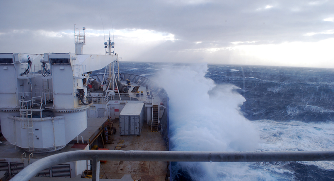 Marion Dufresne II océan Austral