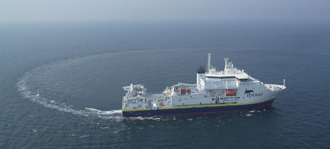 navire océanographique Pourquoi pas