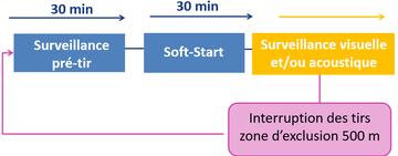 Exemple de protocole appliqué à bord lors des acquisitions sismiques