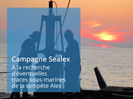 Sealex tempête Alex Gueorgui Ratzov Université Côte d'Azur Sébastien Migeon Sorbonne Université